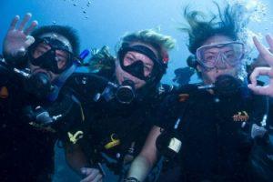 PADI open water scuba center asia