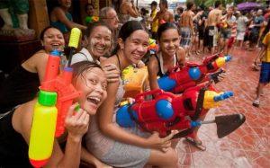 Songkran Thai's nieuwjaar!