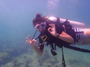 Divemaster Trainee Ali Scuba Center Asia