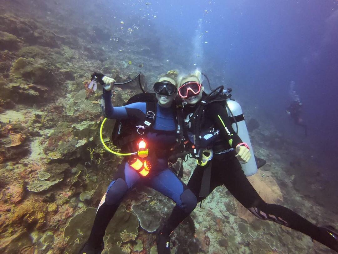 Diving offers individuals the opportunity to join a community of like-minded people and make friends along the way