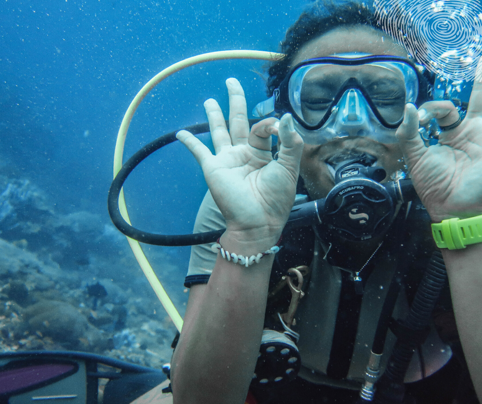 Diving in Indonesia is fun and easy due to the currents that move through the country