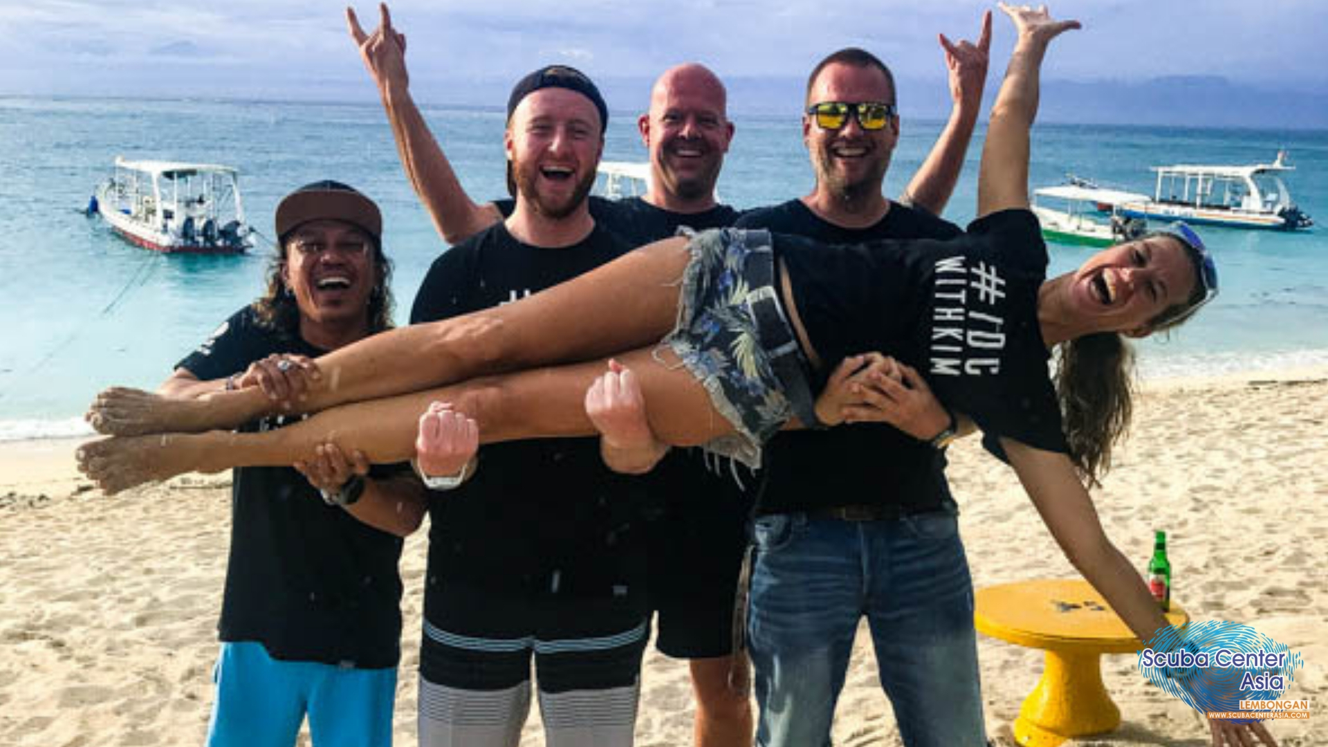 Being a female course director and dive shop owner is a lot of work but also a lot of fun