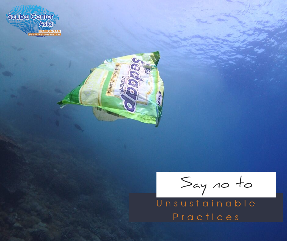 say not to plastic every dive a survey dive