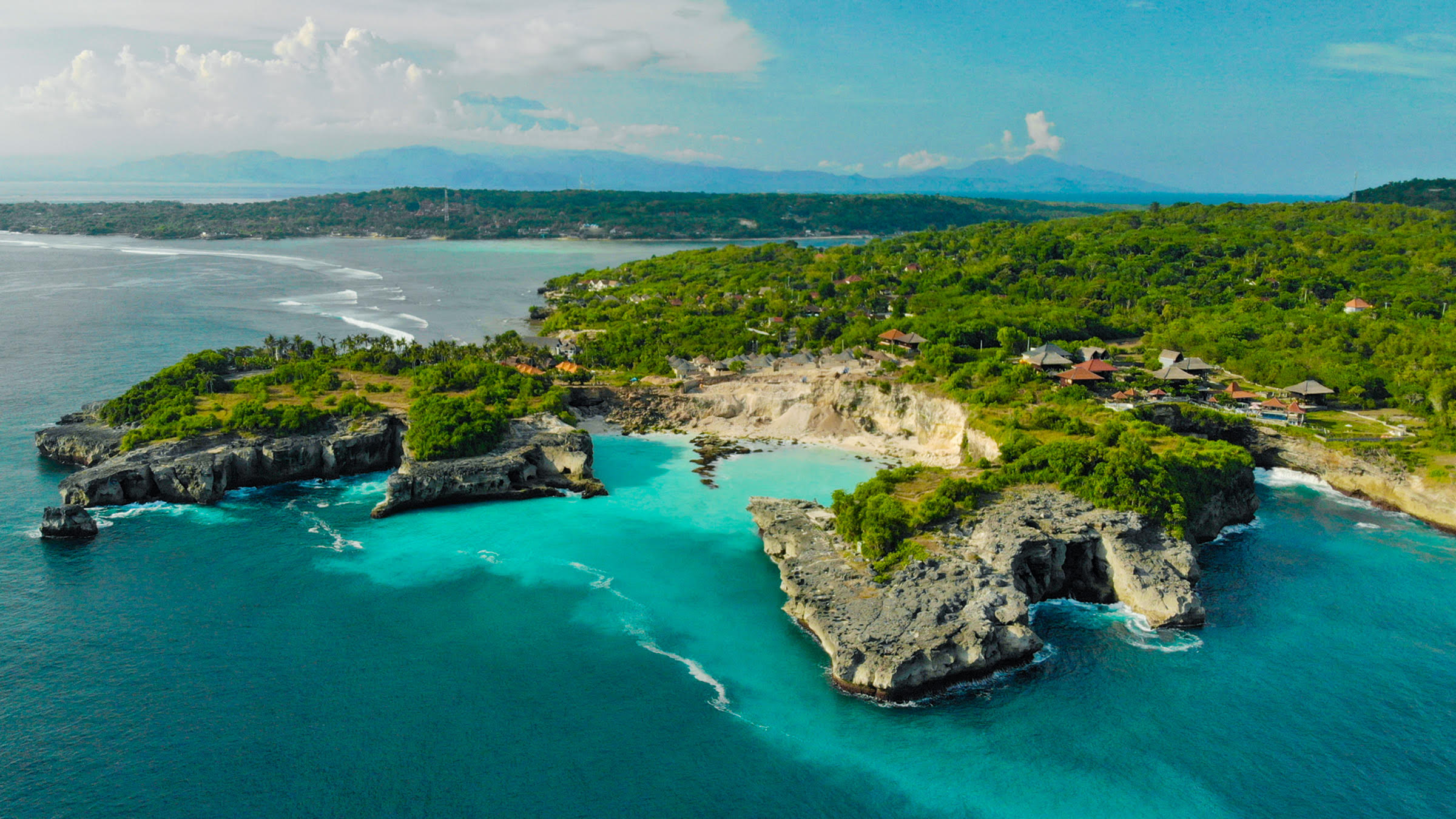 The marine protected area surrounding the nusa islands allows divers to experience some of the best diving in the world