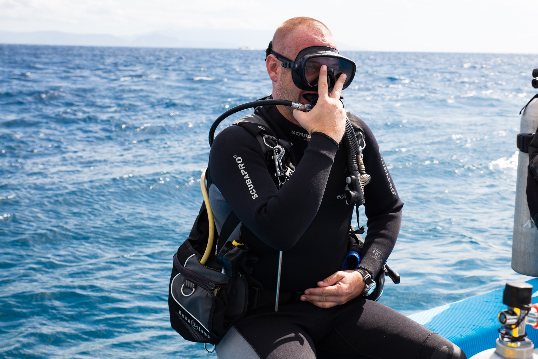 Diving Equipment Buoyancy control